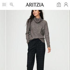 NWT Aritzia plutarch sweater the group babaton